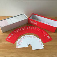 Fun Cards Against Board Games Family Interactive Game Children's Educational Toys English Version