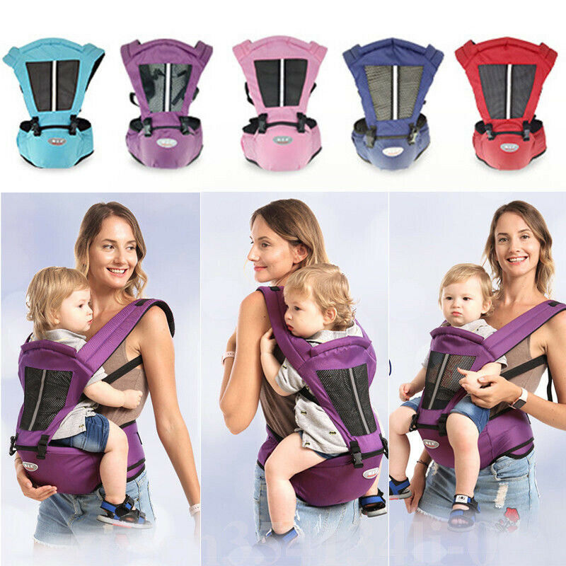 Infant Baby Toddlers Carrier Kids Holder Backpacks Hip Seat Waist Travel