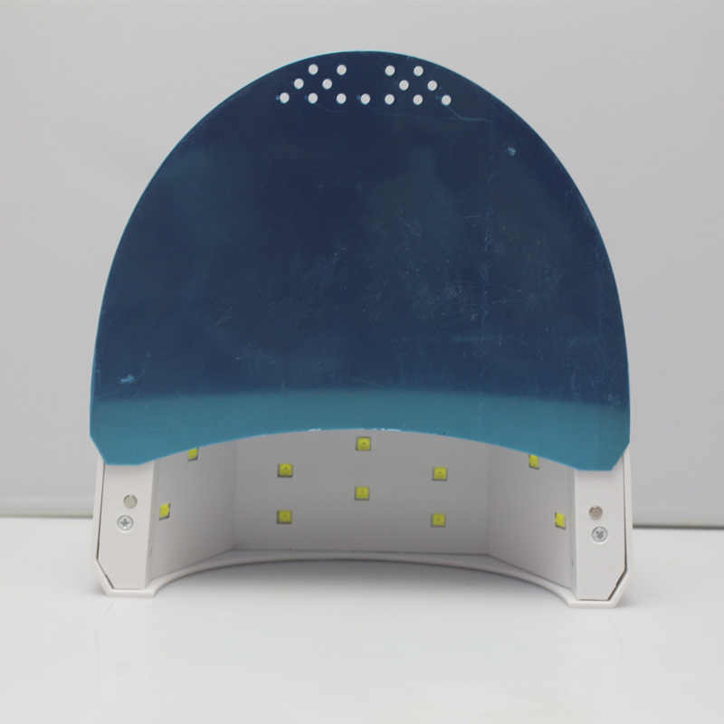 24 W/48 W מתכוונן אינפרא אדום חישה LED מסמר ג 'ל מנורת DIY פולנית ייבוש אור