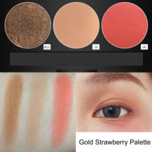 Color Salon Professional INS Fashion Strawberry Palette Matte Shimmer Pigment Long Lasting Makeup Charming Eyeshadow Powder(China)