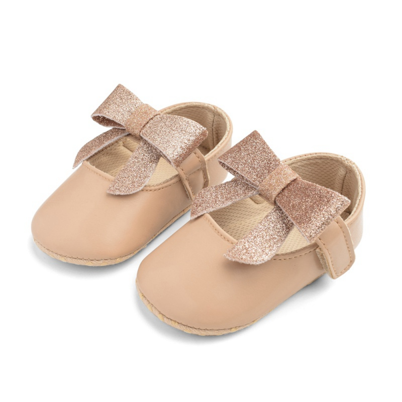 Baby Shoes PU Leather Baby Crib Shoes New Boy Girl Baby Moccasins Bow Fringe Soft Soled Non-slip Footwear