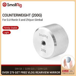 Image 1 - SmallRig Counterweight (200g) 1/4 รูเกลียวสำหรับ DJI Ronin S และ Zhiyun Gimbal Stabilizer 2285