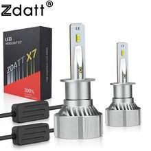 Zdatt H7 LED Car Light H4 Running Lights H11 H1 Canbus 100W 12000LM 12V H8 H9 9005 HB3 9006 HB4 Bulbs for Cars