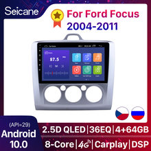 "Seicane 9 ""Android 10,0 Auto Radio Für ford focus EXI MT 2 3 Mk2 2004 2005 2006 2007 2008 2009-2011 2Din GPS Multimedia-Player"