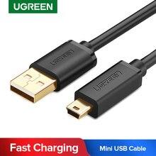 Ugreen Mini USB Kabel Mini USB zu USB Schnelle Daten Ladegerät Kabel für Mobiltelefon MP3 MP4 Player Digital Kamera HDD Mini USB