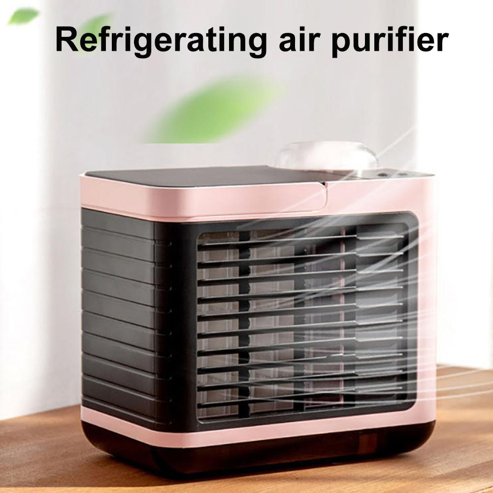 360ml Home Office USB Air Conditioning Cooling Fan Humidifier Purifier Cooler Air Conditioning Cooling Fan Humidifier Purifier C