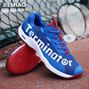 JIEMIAO 2021 Original Badminton Shoes Men Women Professional Badminton Tennis Trainers Shoes Anti-Slippery Breathable for Lover