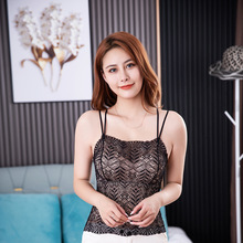 Lingerie Lace-Bra Support Sexy Cotton Women Without New And Chest Cup Detachable Steel-Ring