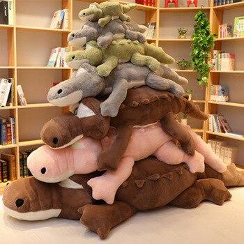 Cute Large Crocodile Plush Toy Doll Sleeping Pillow Long Strip Birthday Gift Girl Ae137