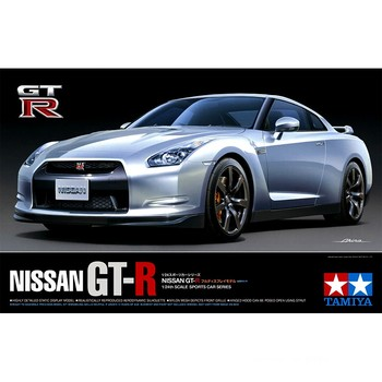 Tamiya 24300 1/24 Scale Nissan GTR Super Sports Cars Vehicle Display Toy Plastic Assembly Building Model Kit