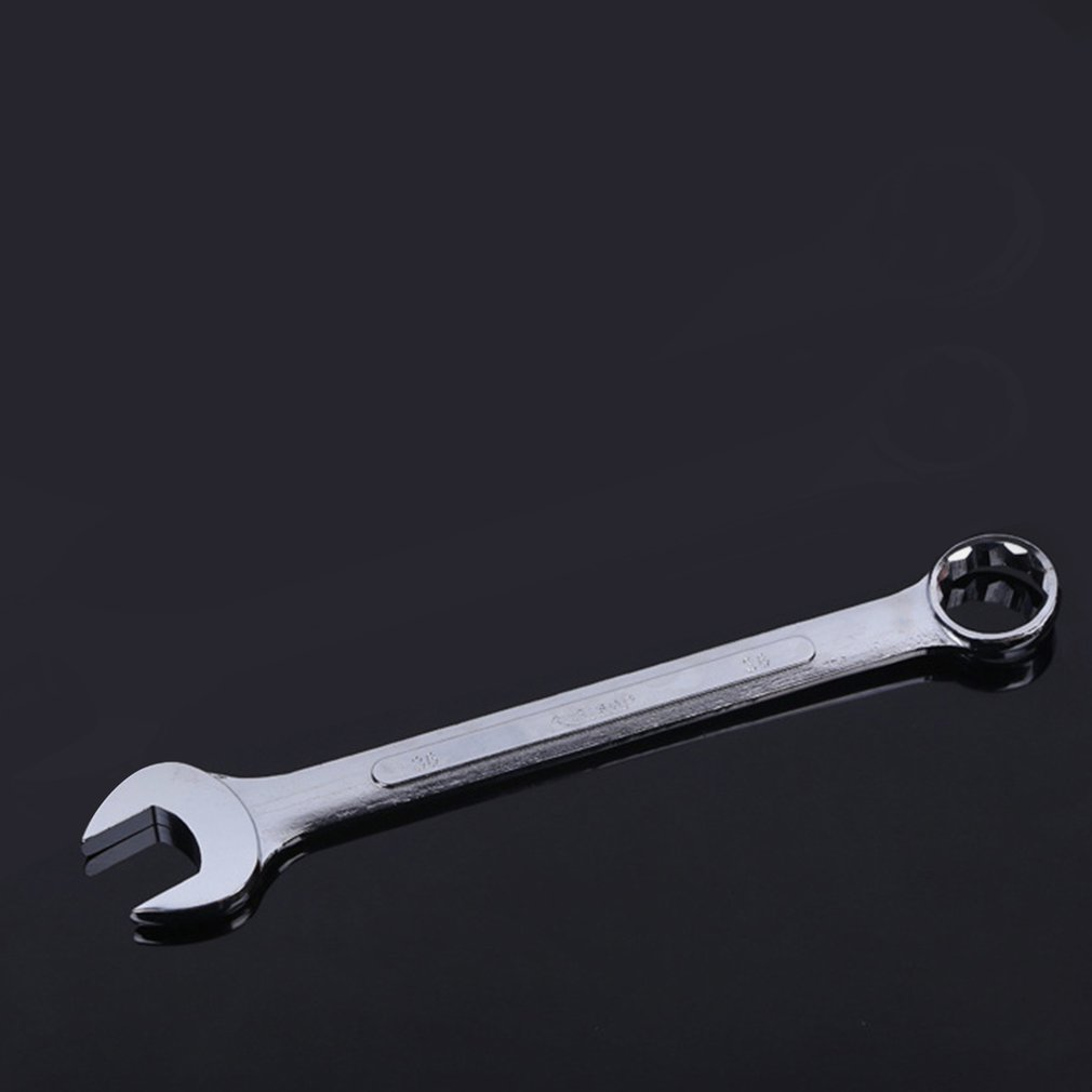 Mirror Polished Ratchet Combination Wrench Spanner Gear Ring Repair Hand Tools CRV Material 6 7 8 9 10 11 12 13 14 15 16 Mm
