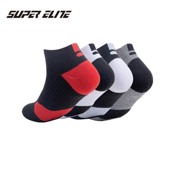 Professional sport short socks outdoor running cycling hiking anti-skid sock terry bottom sweat absorption deodorant breathable outdoor sport cycling socks adult hiking hiking running sports socks summer breathable deodorant bike socks