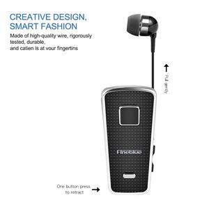 Image 3 - Fineblue F970 Pro Mini Portable in ear 10 hours Bluetooth 5.0 neck clip telescopic type business Sport Earphone Vibration bass
