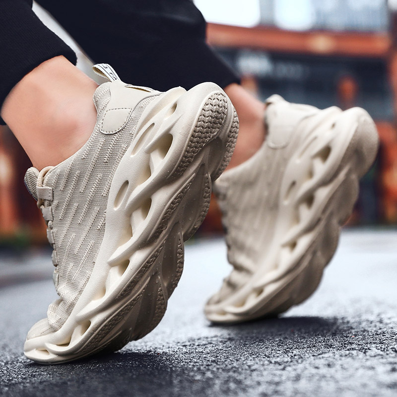 Boy High elastic Flying Woven Breathable Sneaker Running Casual Wild Boots39S Shoes Krasovki Wholesale Bulk Accessories Supplies