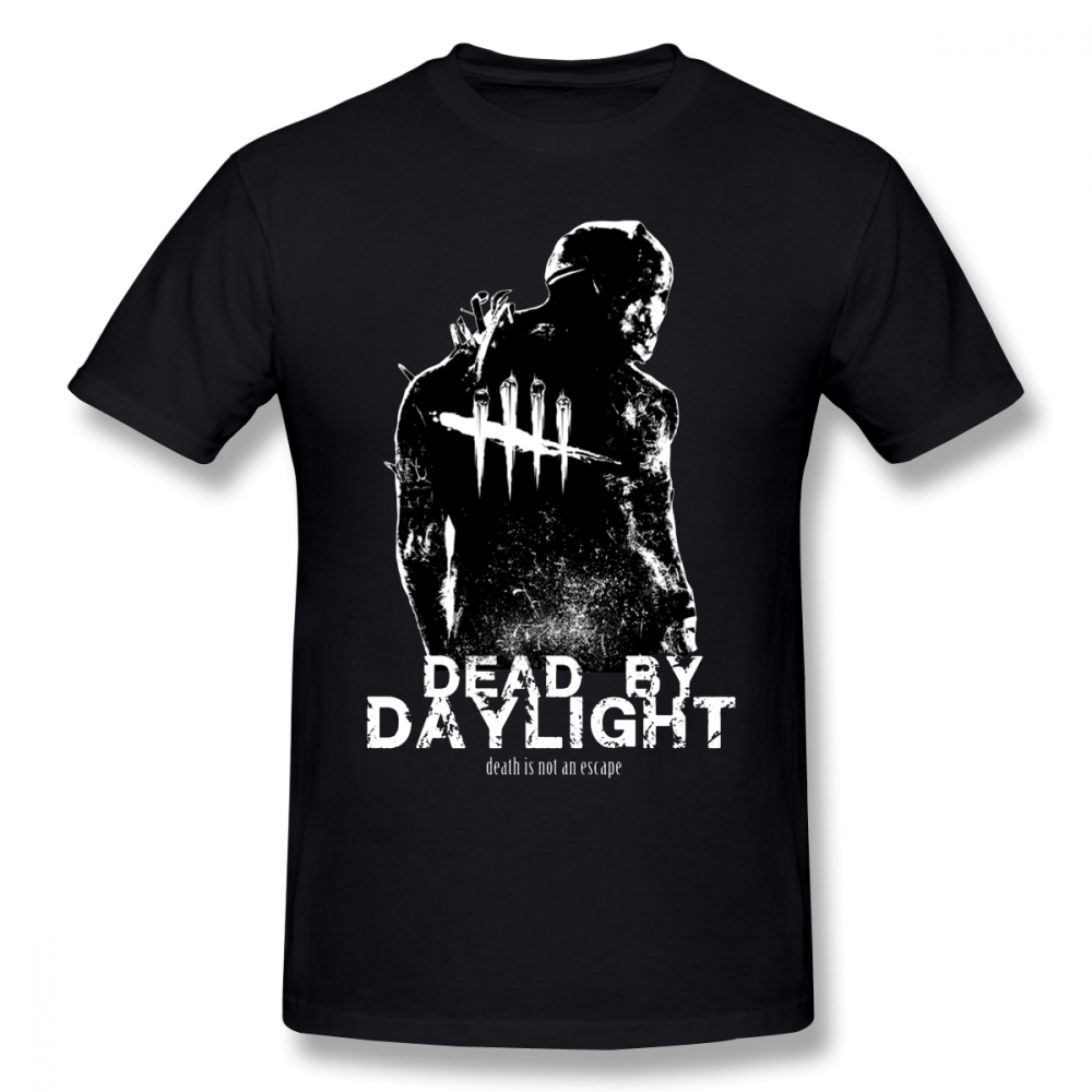 Dead By Daylight T Shirt Dead By Daylight T-Shirt Male Cute Tee Shirt 100% Cotton Short-Sleeve Summer 3xl Print Tshirt