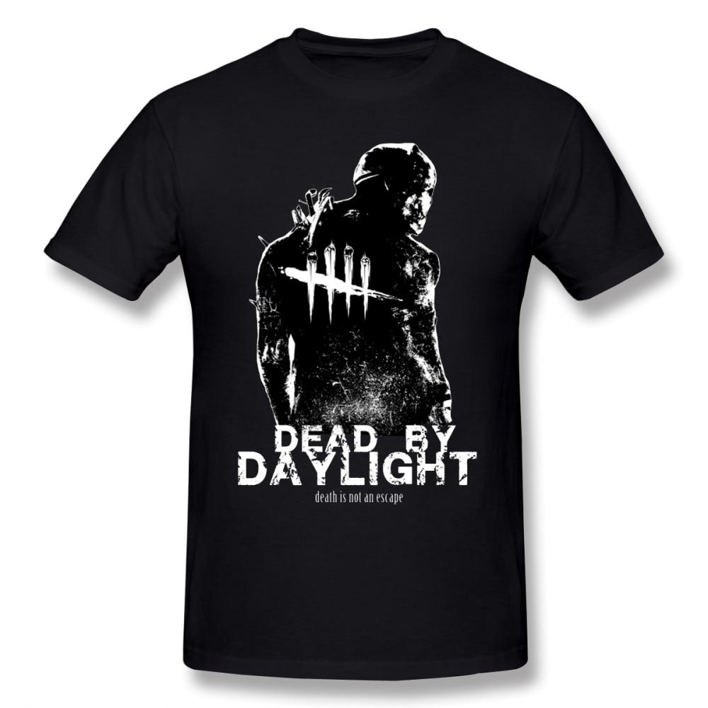 Dead By Daylight T Shirt Dead By Daylight T-Shirt Male Cute Tee Shirt 100% Cotton Short-Sleeve Summer 3xl Print Tshirt
