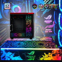 MOD RGB Lighting Panel For PC Case VGA Backplate Side Panel Symphony A-RGB Colorful RGB  AURA SYNC Water cooling Customization