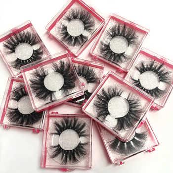 Wholeasle Platz box 25mm Falsche wimpern 100% handgemachte starke Falsche Wimpern Verlängerung Sexy Natürliche Weiche Nerz Wimpern