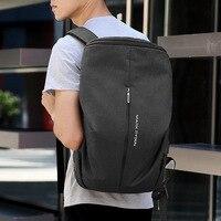 Mark Ryden Outdoor Travel Bag Fashion Backpack Men's Large Capacity Waterproof Rucksack USB Charging Computer Bag