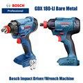 Bosch электроинструменты GDS180-Li электрическая отвертка Гаечный ключ лития ударный ключ (голый металл)