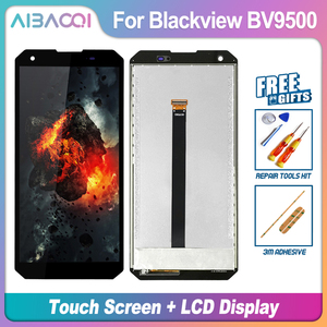 Image 4 - Pantalla táctil Original de 5,7 pulgadas, pantalla LCD de 2160X1080, montaje de marco, repuesto para Blackview BV9500/BV9500 Pro/BV9500 Plus