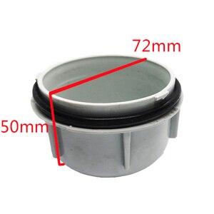 Image 4 - 1 pc עבור טויוטה Elfa רכב מנורת אביזרי LED הנורה הארכת אבק כיסוי hid מנורת גישה כיסוי פנס מנורת כובע תקע עמיד למים