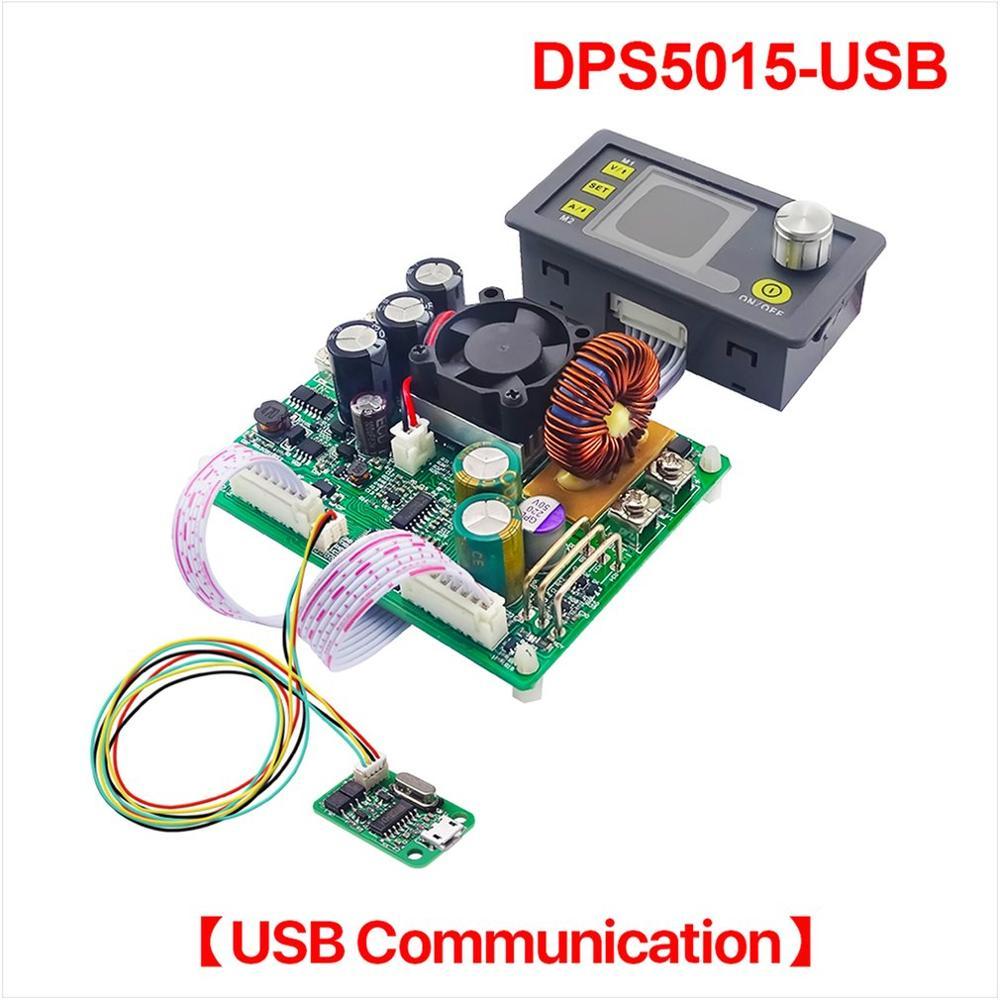 DPS5015-USB Communication courant de tension constante DC abaisseur Module d'alimentation convertisseur de tension Buck voltmètre LCD
