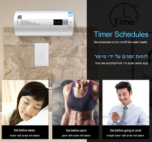 Image 3 - Smart Life Wifi Boiler Water Heater Switches 4400W 20A Voice Control Works Alexa Google Home Timer Function Tuya For Israel