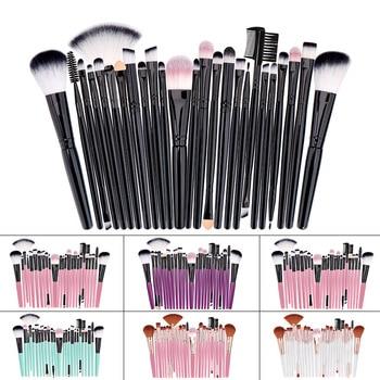 Professional Makeup Brushes Set Powder Foundation Blusher and Eyeshadow Tools For Women Cosmetic 25Pcs Brushes Set 2