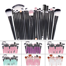 Professional Makeup Brushes Set Powder Foundation Blusher and Eyeshadow Tools For Women Cosmetic 25Pcs