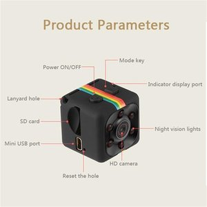 Оригинальная мини камера SQ11, водонепроницаемый чехол, широкоугольный объектив HD 1080P, широкоугольный SQ 11, мини видеокамера DVR, Спортивная видеокамера