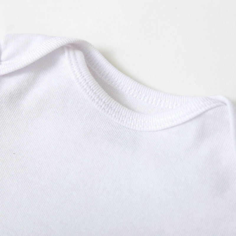 Musim Panas Lucu Ayah + Ibu Huruf Cetak Bayi Pakaian Bayi Pakaian Bayi Bayi Anak Gadis Rompers Jumpsuit Pakaian Pakaian