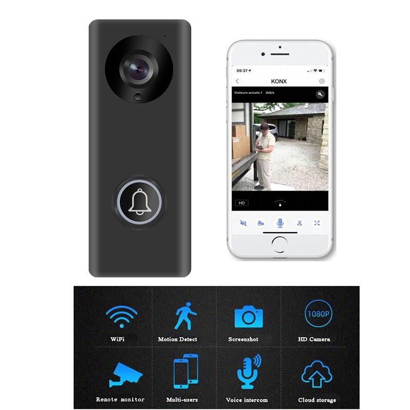Smart Wifi Video Intercom 720P Motion Sensor Alarm Home Office Wireless Video Doorbell Door Phone Remote Control Gate Opener