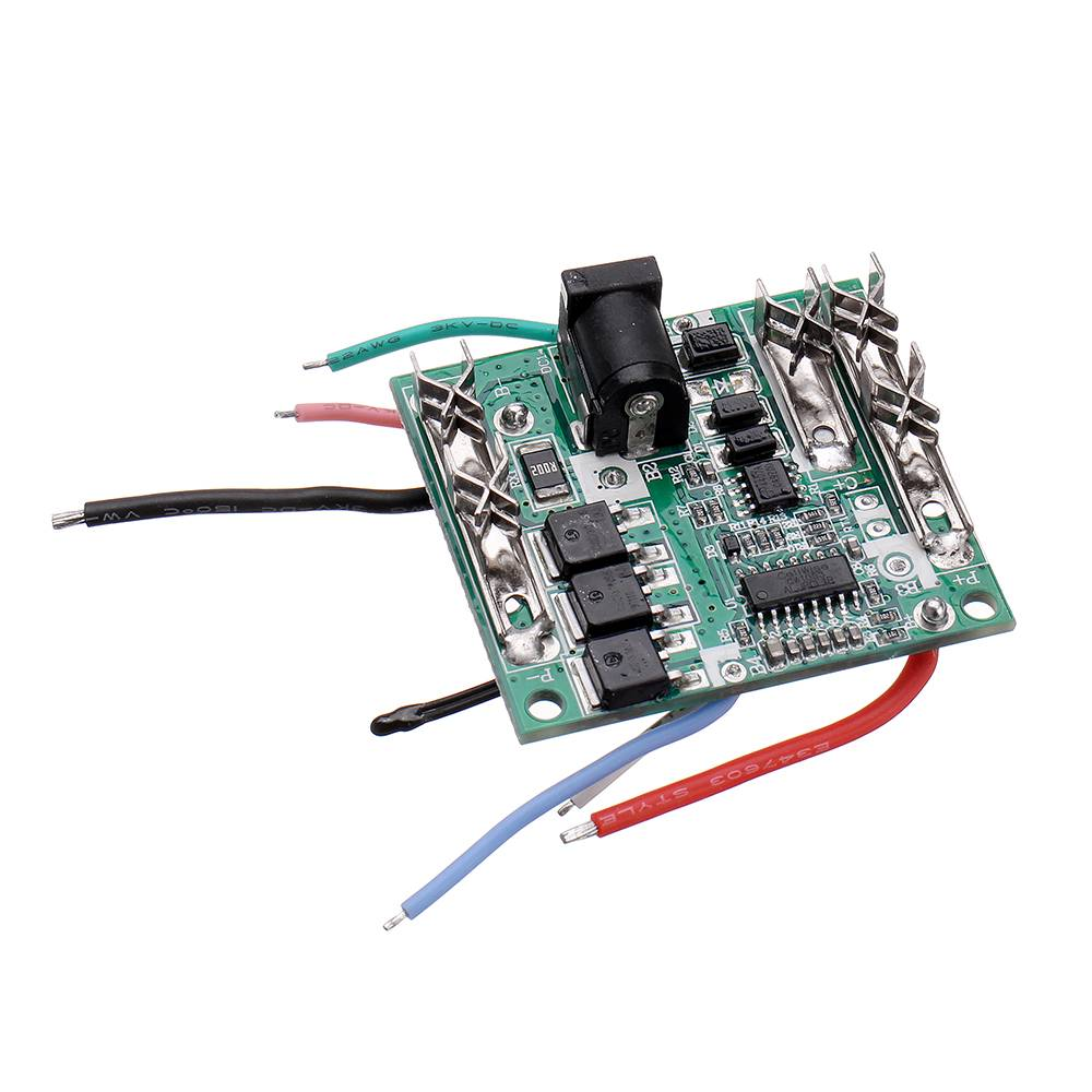 20A Li-Ion  Lithium Battery Protection Board 5S 18/21V Pack Battery Charging Protection Board Circuit Board BMS Module