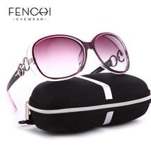 FENCHI 화이트 새 편광 선글라스 여성 Zonnebril Dames Black Sun Glasses 밤 여성 운전 gafas oculos de sol masculino