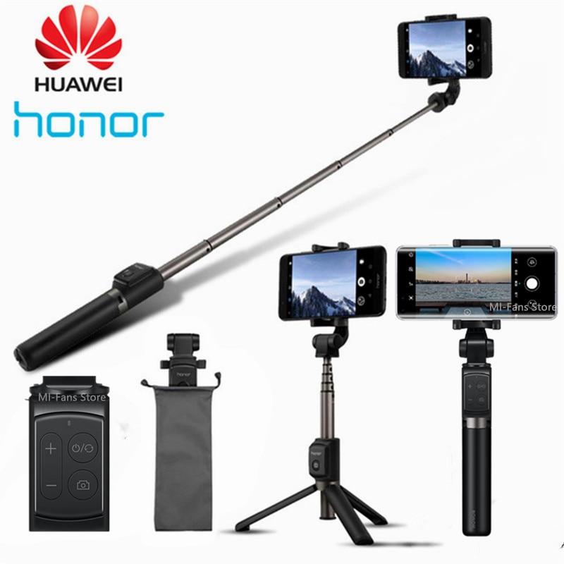 Original huawei honra af15/pro bluetooth selfie vara tripé de controle sem fio portátil monopé handheld para ios/xiaomi telefone