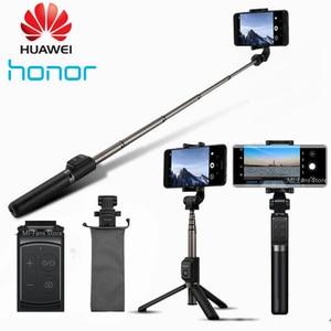 Original Huawei Honor AF15/Pro Bluetooth Selfie Stick Tripod Portable Wireless Control Monopod Handheld for iOS/Xiaomi Phone