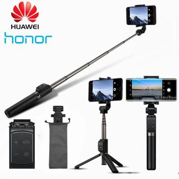 Oryginalny Huawei Honor AF15 Pro Bluetooth Selfie Stick statyw przenośny bezprzewodowy Monopod ręczny dla iOS Xiaomi telefon tanie i dobre opinie Aluminum PC CN (pochodzenie) Smartphones 186mm Honor Selfie Stick 163g 660mm