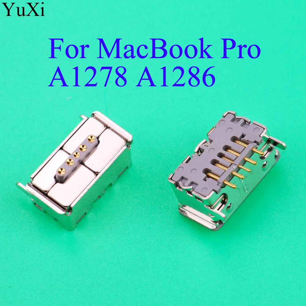 Laptop For Magsafe For MacBook Pro A1278 A1286 Harnes 820-2565-A 2009 2010 2011 2012 AC DC Power Jack Socket 5 Pin Charger Port