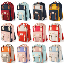 Fashion Women Nylon Laptop Backpack For Teenage Girls Female Fashion Casual School Bags Backpack Student Computer Bag Mochila недорого