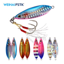 bass lure Slow pitch Jig lure swimbait Metal lead jigging lure18/28/38g casting fishing Artificial Bait