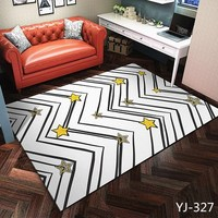 Nordic style Carpet for living room Abstract color universe space starry sky printed rugs and carpets