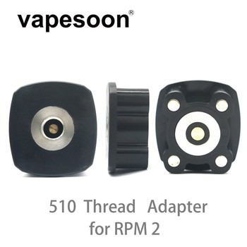 Vapesoon High Quality 510 Ruck Adapter for Electronic Cigarette Vape SMOK RPM2 Kit Box Mod Vaporizer DIY Pod image