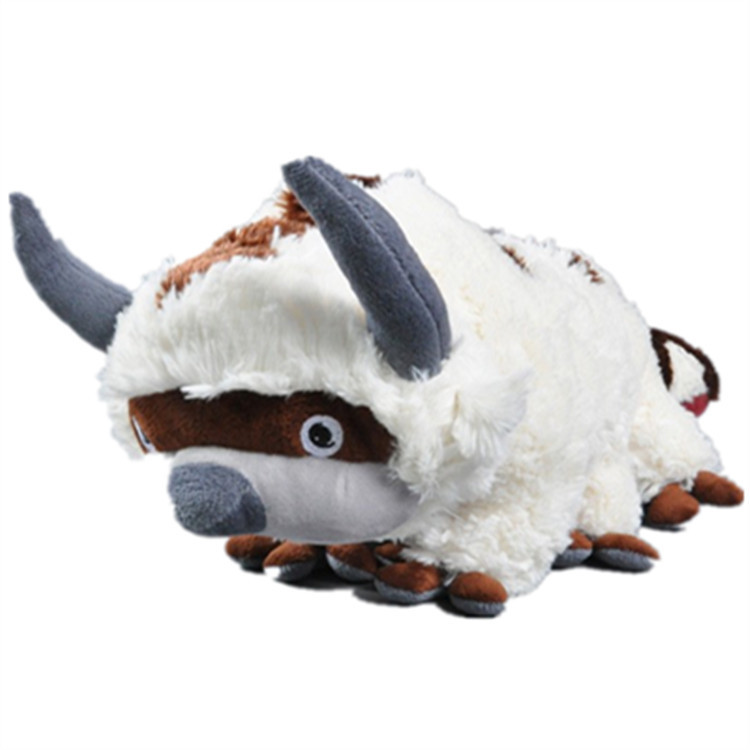 [ Funny ] 45CM Anime Kawaii <font><b>Avatar</b></font> <font><b>Last</b></font> <font><b>Airbender</b></font> Appa Plush Toy Soft Juguetes Stuffed Animal Brinquedos Doll Kids baby Toys image