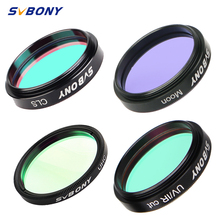 "SVBONY 1.25/ 2"" Filter UHC+CLS+Moon+UV/IR Cut filter, Astronomy Telescope Monocular Astronomical Observations ,Deep Sky Object"