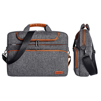 Gray Casual Domiso Laptop Sleeve With Handle For Laptop And Macbook Pro & Air 2
