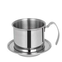 В Портативный Нержавеющая сталь Вьетнам Кофе капельницы фильтр Кофе капельная Кофе фильтр для воды горшок фильтры инструменты