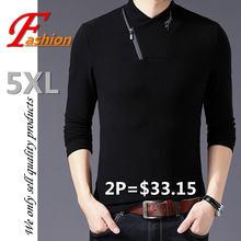 Высококачественный новый мужской пуловер с высоким воротником