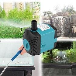 3/6/10/15/25W zatapialne pompa wodna plastikowe przyssawki zatapialne pompa wodna filtr pompy staw rybny woda akwariowa pompa fontannowa