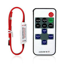 Dimmer Remote-Switch-Controller Led-Strip-Light Mini Wireless RF 12V for 10-Level 1pcs
